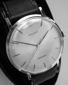 Rolex Precision.