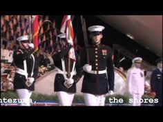 Armed Forces Medley video:  a short video with an orchestra playing songs with lyrics for each branch of the military.