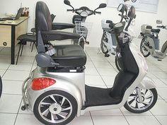 Blog do Cadeirante: Triciclo elétrico