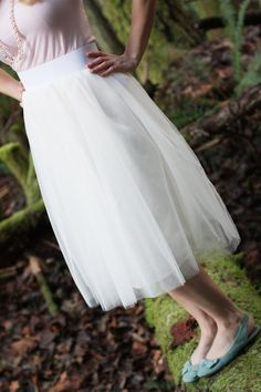 how to make a tulle skirt by sew much ado