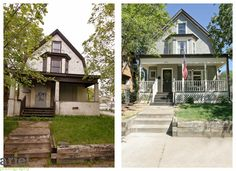 Would you buy a house for $1 if you had to put lots of money in to it? Looks like fun to me! Nicole Curtis Rehab Addict -Dollar House- Before & After #Ariel Photography #Minneapolis