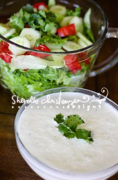 Homemade Ranch Dressing!  I think I could drink this stuff! *from my friends already tried board*