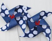 Nautical Party Pinwheels
