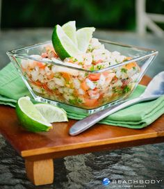 This Baja California-style ceviche is made with shrimp, fresh lime juice, and refreshing cucumber. Make it as mild or spicy as you want by adjusting the chili peppers to your taste. Serving it in endive shells is a clever and crunchy alternative to fried tortilla chips. #paleo #recipes #shellfish #shrimp