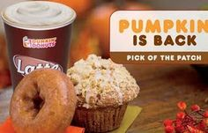 Weight Watches Points Plus for Dunkin' Donuts and Starbucks Pumpkin Favorites!