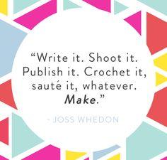 #make #create