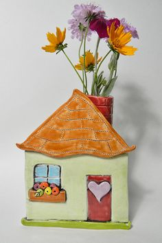 My House is a Very Fine House for Children's clay class- Janet Burns