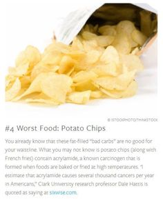 worst foods: chips