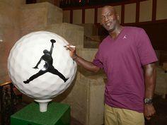 silhouett, ball featur, balls, golf ball, jordans, number, jordan 23, golf fanat, michael jordan