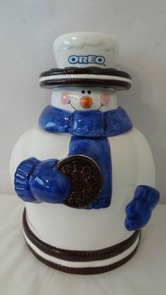 *NABISCO OREO ~ Cookie Jar made by Houston Harvest in China