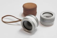Iris by Mimi Zou (London). A new concept camera design - biometrics enabled camera would be controlled by your eye and would understand what you're looking at by checking your iris signature. By doing this, it would be able to capture exactly the same scene as your eye, with the same objects or people in focus.