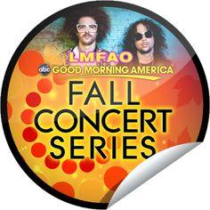 LMFAO on GMA On December 19! Sticker | GetGlue