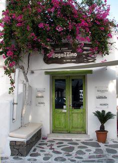 Mykonos, Greece hairsalon!!!