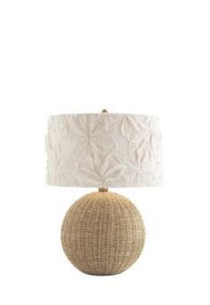Lamps by Maine Cottage - Deena Rattan Lamp