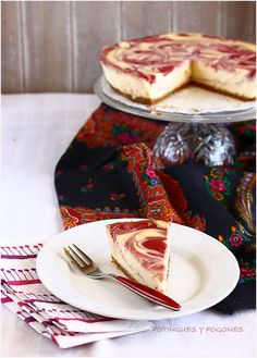 POTINGUES Y FOGONES: Cheesecake de fresas