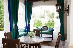 eclectic patio by Laura U, Inc.