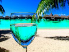 a drink in the maldives