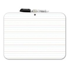 This is a double sided whiteboard (dry erase!) it's PERFECT for a preschooler alllll the way up to preteen-- it's great to draw on (no wasted paper!) and/or practice writing/cursive- and/or do math! LOVE it-- and it's ONLY $5.49 SHIPPED-- fabuLESS!
