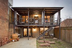 Carriage House Renovation in historic Blagden Alley