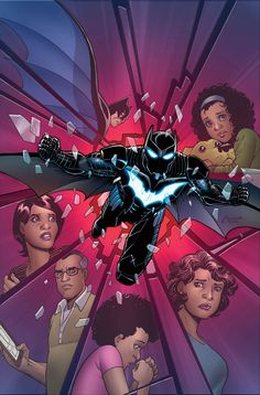 Batwing by Amanda Conner