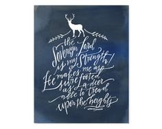 Awesome Bible text typography prints!   #lindsaylettersshop