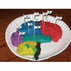 Nervous System Lesson...play dough and what sections do