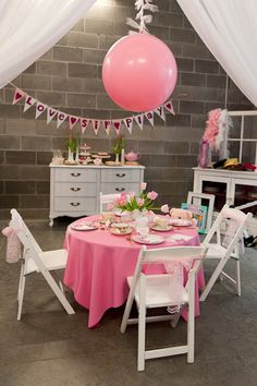 Little Girl Tea Party, cute for a little 4th or 5th birthday with a couple of friends. Maybe a little bigger table, have flavored teas and fun healthy snacks with some sit down crafts.