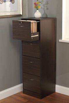Stylish 4-Drawer Filing Cabinet