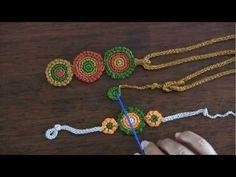 Parure : collana, braccialetto e anello