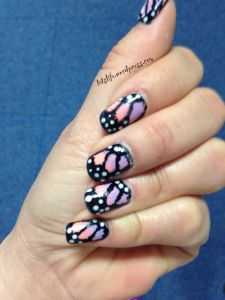 butterfly #nails #nailart