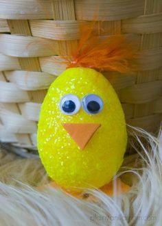 Easter Chick Egg Craft