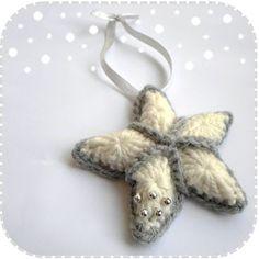 Kerstster by A la Sascha #free #crochet #pattern #freepatternpattern #tutorial