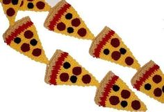 Ravelry: Pizza Slice - Toy Food - Play Kitchen - Amigurumi