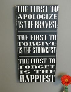Family Rules,quotes, Christian signs, The First to.... 12x24 handmade wood sign, home decor, black and white on Etsy, $45.00