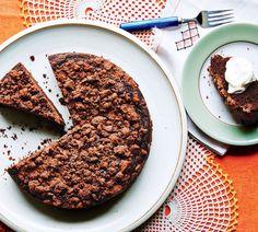 Chocolate Rye Crumb