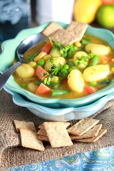 Veggie soup that actually looks really good!