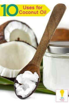 10 Ways to Use Coconut Oil - Tipsaholic