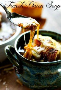 You can't go wrong with this recipe for Slow Cooker Cheesy French Onion Soup. There is nothing like warming up with a bowl of homemade French onion soup after a long day, and this recipe is super cheesy and delicious.