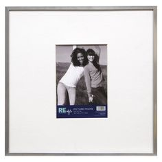 """Gallery Wall: Room Essentials® Frame with Thin Profile and Mat (13x13"""") , Target"""