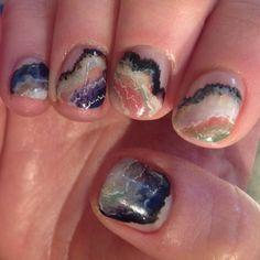 Agate Nail Art