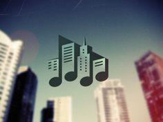 Music Town logotype by Igor Garybaldi