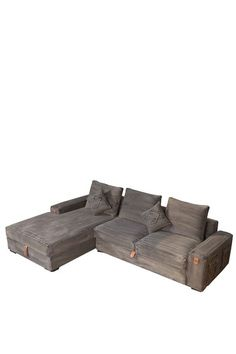 This would be cute in a  playroom/game roomBlack Denim Memphis Right Sectional Sofa by Moe's Home on @HauteLook