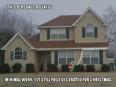 remember this, funny pictures, funny christmas, christmas decorations, christmas lights, hous, holiday decorating, christmas photos, outdoor christmas