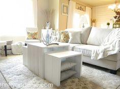 DIY 3-in-1 Coffee Table