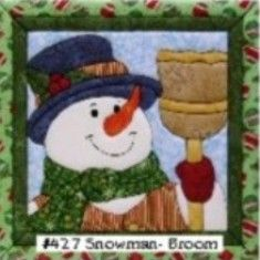 #snowman #winter Here is a cute and popular snowman holding a broom. Item number is 427 check it out!