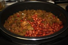 Red Beans and Sausage Recipe: Made in a pressure cooker