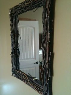 @Jennifer Milsaps Titus Earles I don't know why, but I think you need this. West Elm Driftwood mirror- DIY'd for just $16!