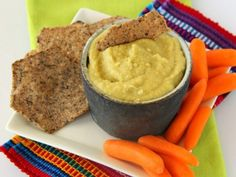 Hatch Chile Hummus | ShockinglyDelicious.com   #hatch #hummus #recipe #dip #appetizer #SundaySupper #hatchmatch #hatchfever #chile