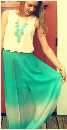 loving this ombre maxi