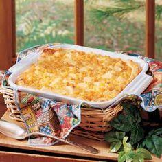Grandma's Corn Pudding Recipe tasteofhome.com